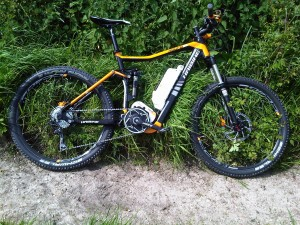 Haibike Xduro FS - in it`s element