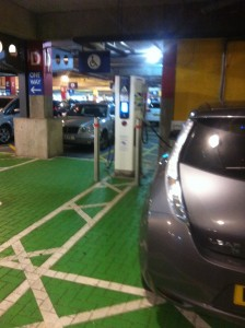 Ikea Bristol - Ecotricicty charging bays