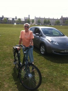 Having Enjoyed a Raleigh Ebike ride