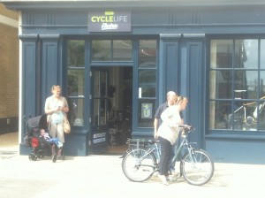 Cyclelife Wessex - off for a test ride