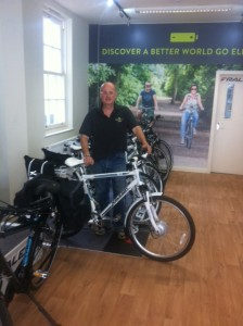 Peter Claxton in Cyclelife Wessex