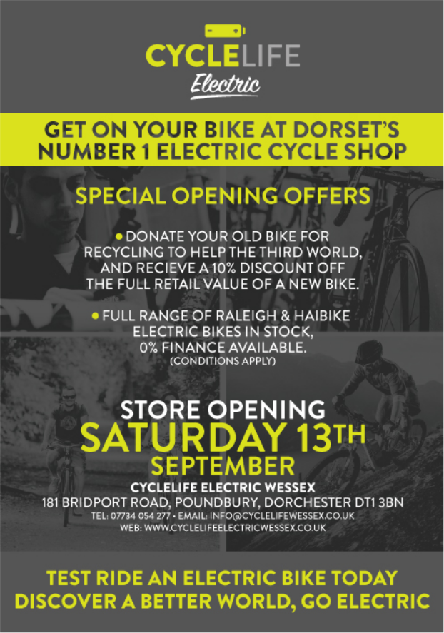 Cyclelife Wessex Opening