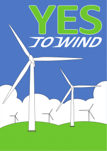 Yes to Wind - Poster